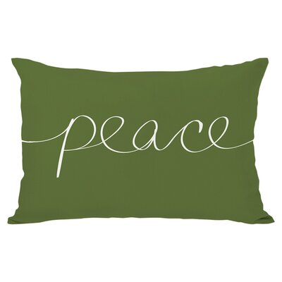 Peace Reversible Lumbar Pillow