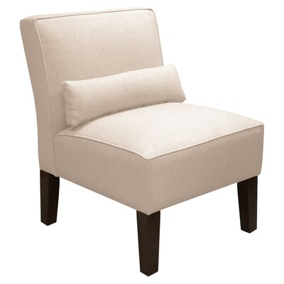 Thurston Slipper Chair Upholstery: Linen Talc