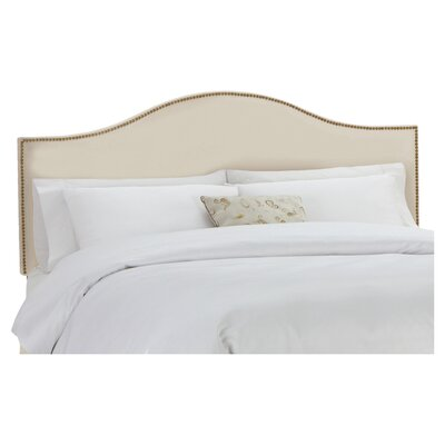 Ava Polyester Upholstered Headboard Size: King