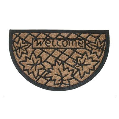 Welcome Leaf Doormat