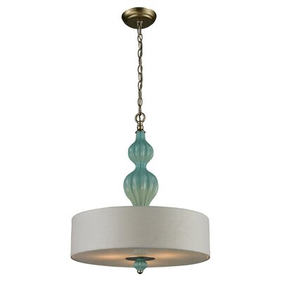 Ellington Pendant in Aqua