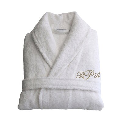 Personalized Small/Medium Terry Bathrobe