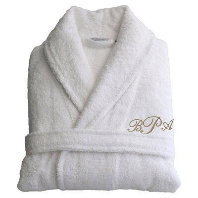 Personalized Large/Extra Large Terry Bathrobe
