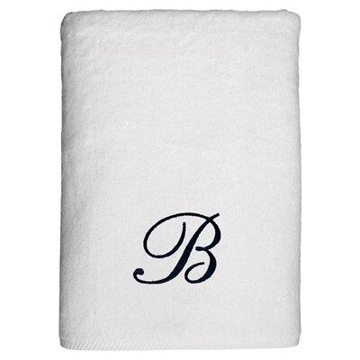 Personalized Soft Twist Bath Sheet in White