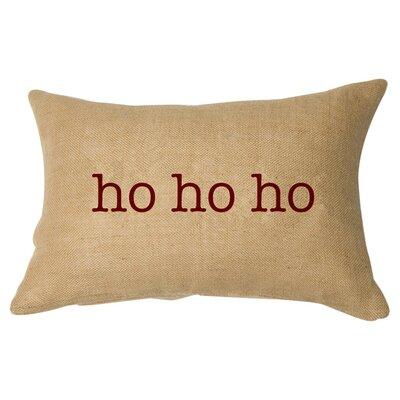 Ho Ho Ho Lumbar Pillow