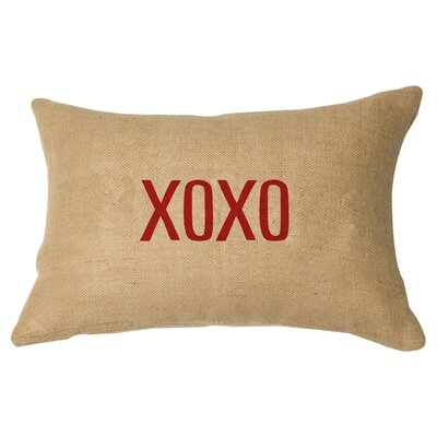 Hugs & Kisses Lumbar Pillow