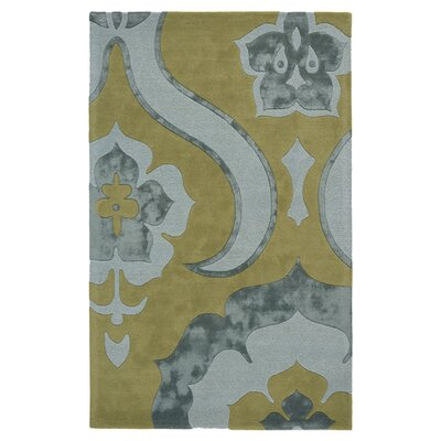 Morton Hand-Woven Spring Dust Area Rug Size: 16 x 23