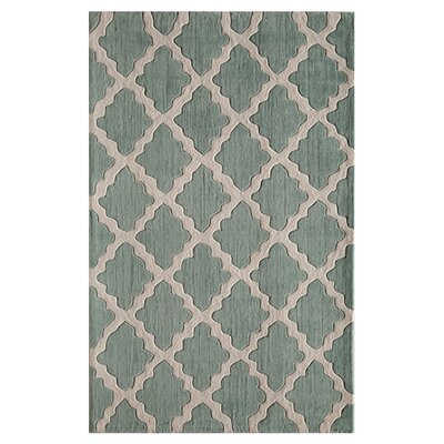 Marrakech Hand-Woven Spearmint Area Rug Size: 5 x 76