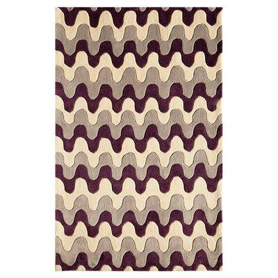 Hestia Hand-Woven Violet Ridge Area Rug Size: Runner 23 x 76