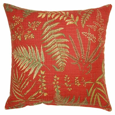Fair Fern Throw Pillow