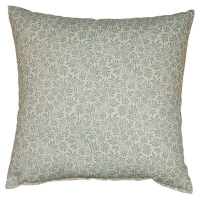 Parson 100% Cotton Reversible Throw Pillow Color: Spa