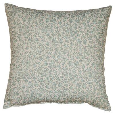 Parson 100% Cotton Reversible Throw Pillow Color: Spa