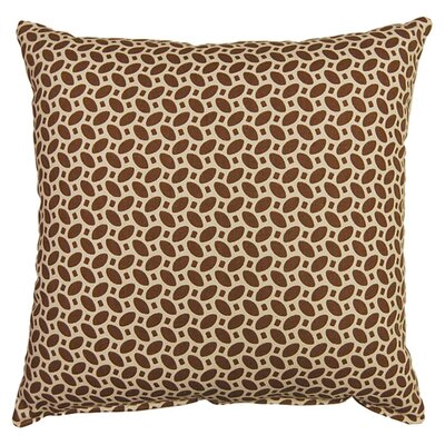 Pirouette 100% Cotton Reversible Throw Pillow