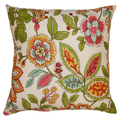 Sadie 100% Cotton Reversible Throw Pillow