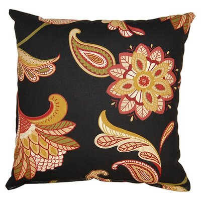 Savanna 100% Cotton Reversible Throw Pillow