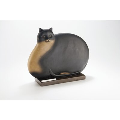 3-D Fat Cat Decorative Chalkboard