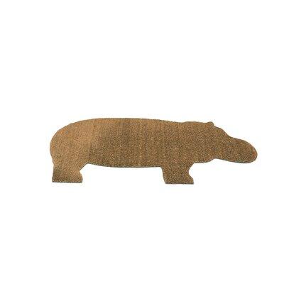 Hippo Doormat