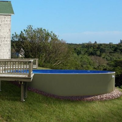 """Insulated Pools Direct Round 52"""" Deep Insulated Pool - Color: Brown, Size: 21' W at Sears.com"""