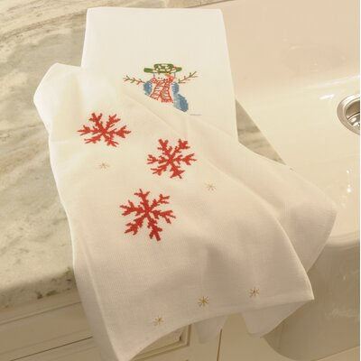 Snowman Hand Towel