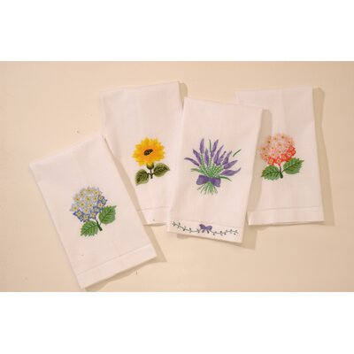 Floral Bouquet Guest Towel