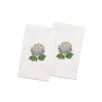 Hydrangea Hand Towel Color: Blue
