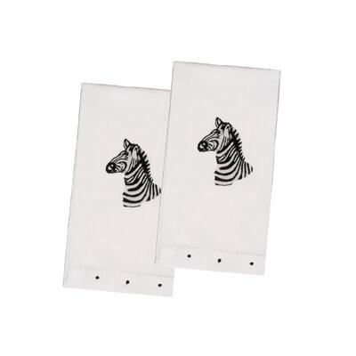 Zebra Guest Hand Towel