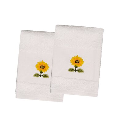 Sunflower Terry Hand Towel