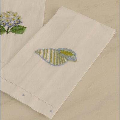 Conch Shell Guest Hand Towel