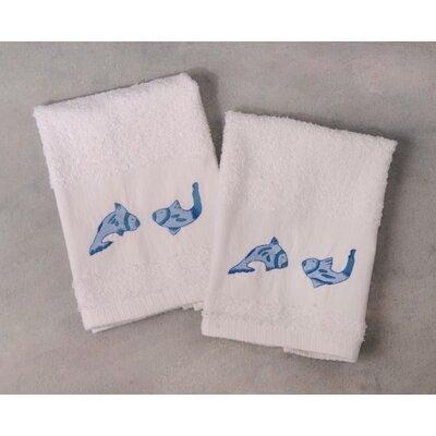 Koi Fish Terry Hand Towel