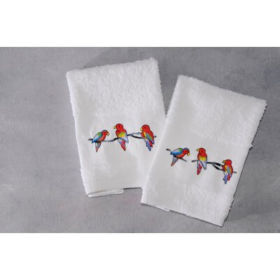 Mirabal Parrot Terry 2 Hand Towels
