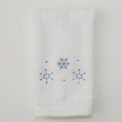 Snowflake Terry Hand Towel