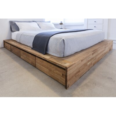 LAX Series Storage Platform Bed Size: King