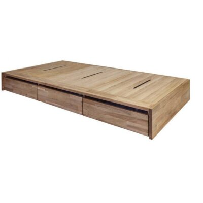 LAX Series Storage Platform Bed Size: Twin
