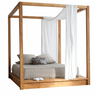 PCHseries Canopy Bed Size: King