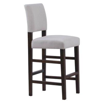 Bridger 29 Bar Stool Upholstery: Ivory