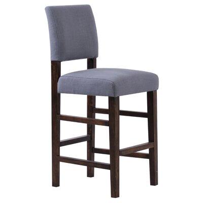 Bridger 29 Bar Stool Upholstery: Steel Grey