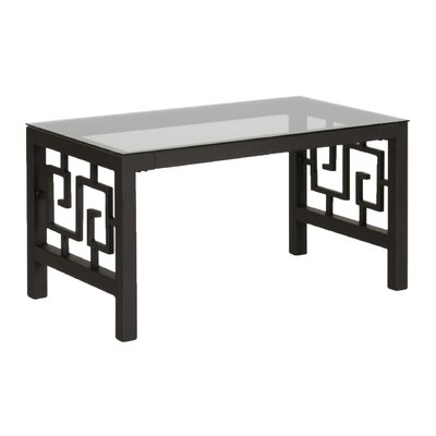 Greek Key Coffee Table Color: Deep Bronze