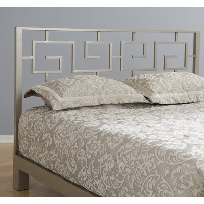 Greek Key Open-Frame Headboard Size: Queen