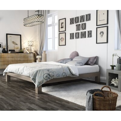Stella Platform Bed Size: King