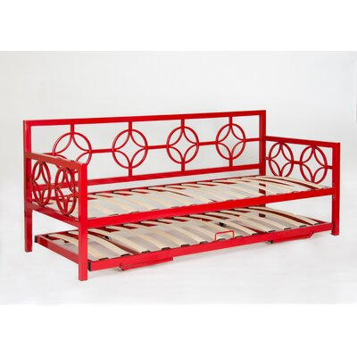 Millerton Trundle Finish: Red, Size: Twin
