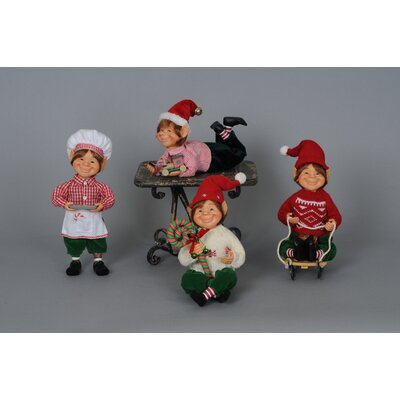 Christmas 4 Piece Traditional Elf Set CC09-02