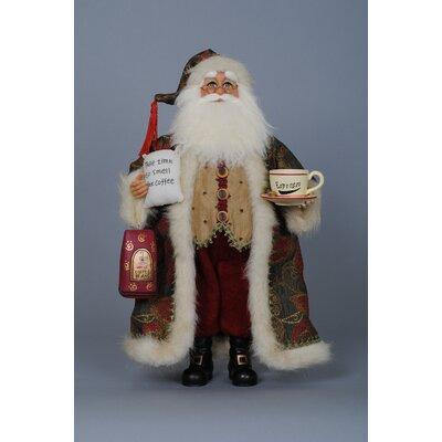 Christmas Coffee Santa Figurine CC16-67