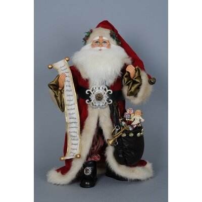 Christmas Old World Santa Figurine CC20-55A
