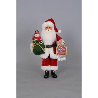 Christmas Snowman Santa Figurine CC12-23
