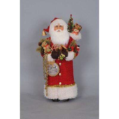Christmas Greetings Santa Figurine CC22-02
