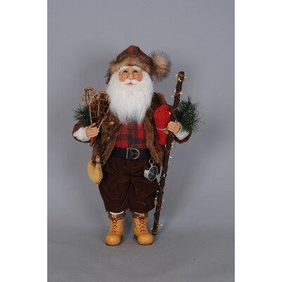 Christmas Mountaineer Santa Figurine CC16-125