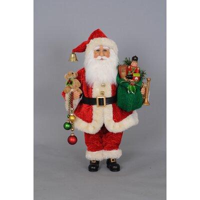 Christmas Delight Santa Figurine CC16-131