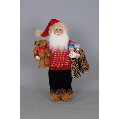 Christmas Movie Time Santa Figurine CC16-130