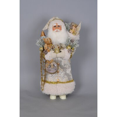 Christmas Greetings Santa Figurine CC22-01