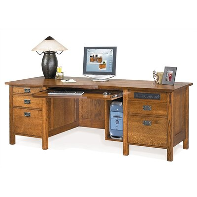 Craftsman Home Office 82 W Angle Computer Desk Product Image 2547